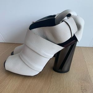 NWT Proenza Schouler PS25112 White Sandal